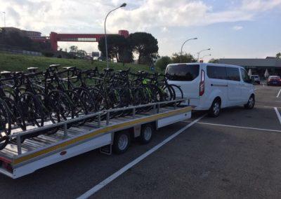 Remolc per bicicletes taxi Girona
