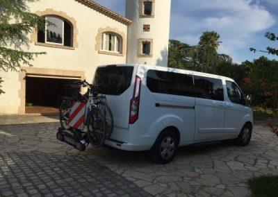 Transfer bicicletes taxi Girona