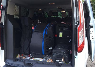 Transfer maletes