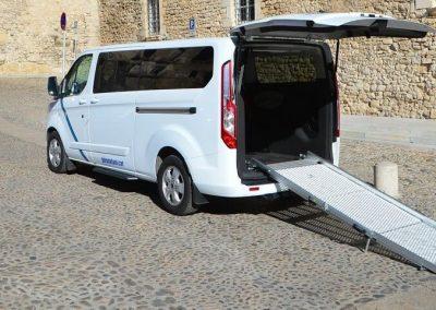 Vehicles adaptats taxi