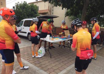 Ciclistas seguimiento