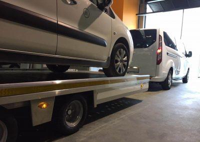 Remolque para Transportar coches y caravanas